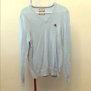 Express sweater V-neck - Baby blue